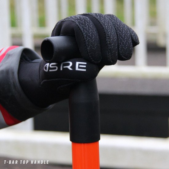 T-bar top handle