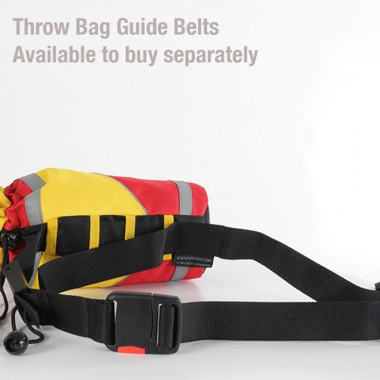 Throw bag guide belt, one is supplied and they're available separately too