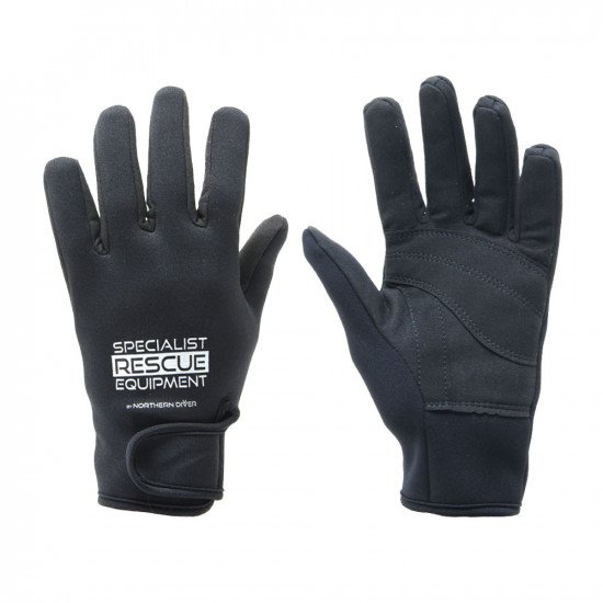 2mm black SRE rescue rope gloves