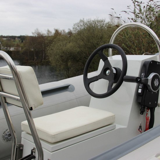 3.8m Iroquois RIB boat with 1 person console