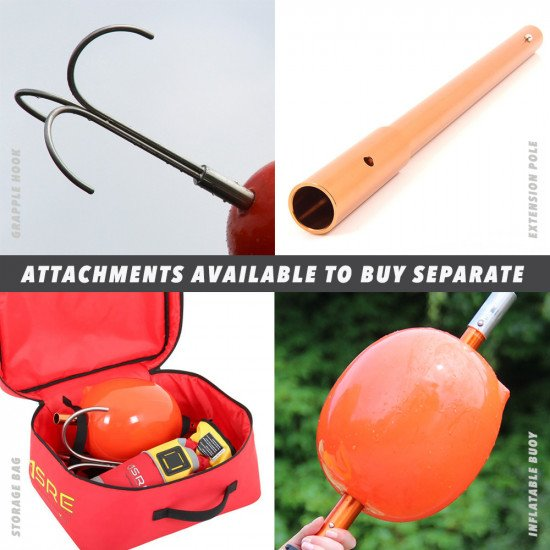 Attachments that can be bought separate and used in with the reach poles.