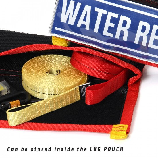 A versatile piece of safety kit that rolls up small meaning the compact size and also the low weight