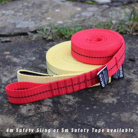 Can also be stored inside Northern Divers Lug Pouches. The safety snake sling can be used in a varie