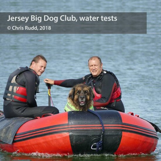 Jersey Bog Dogs Club on the water in our Northern Diver inflatables
