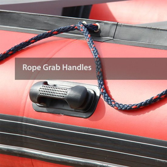 Rope grab handles