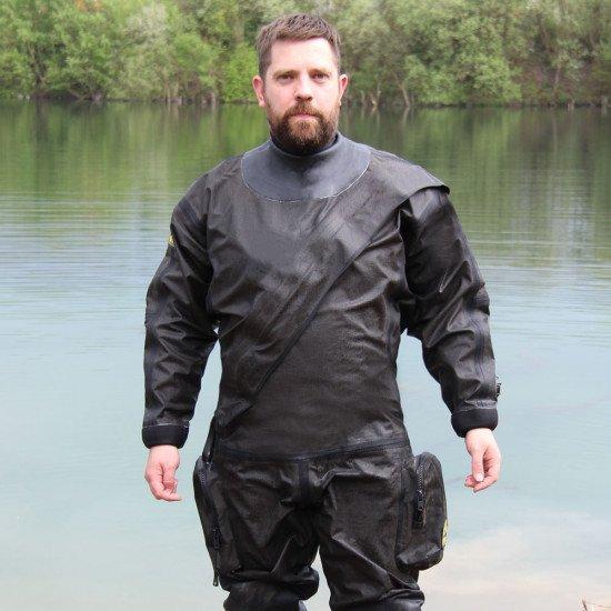 MIL-SPEC Breathable Kevlar® Drysuit   Drysuit for Diving   Northern Diver International