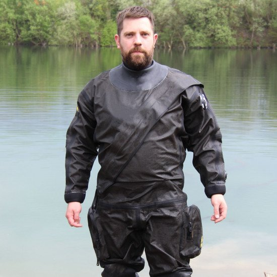 MIL-SPEC Breathable Kevlar® Drysuit | Drysuit for Diving | Northern Diver International