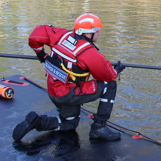 Popular with water rescue teams.
