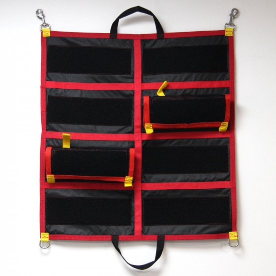 Fits up to 8 rescue lug pouches
