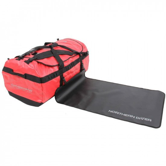 160L NDB5 Red Holdall and changing mat
