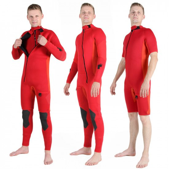 5mm Search and Rescue Three Piece Wetsuit | Northern Diver UK | Diving Wetsuit for Sale