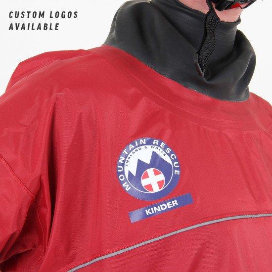 Bespoke branding for kinder mountain rescue team