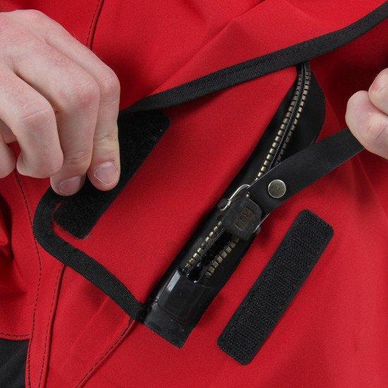Medium duty BDM metal dry zip on the SF5 water rescue suit