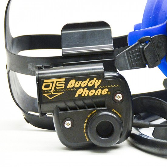 OTS BuddyPhone mounted on Spectrum Mask
