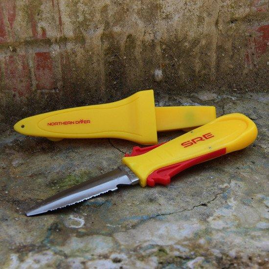 SRE Squeeze Lock Knife
