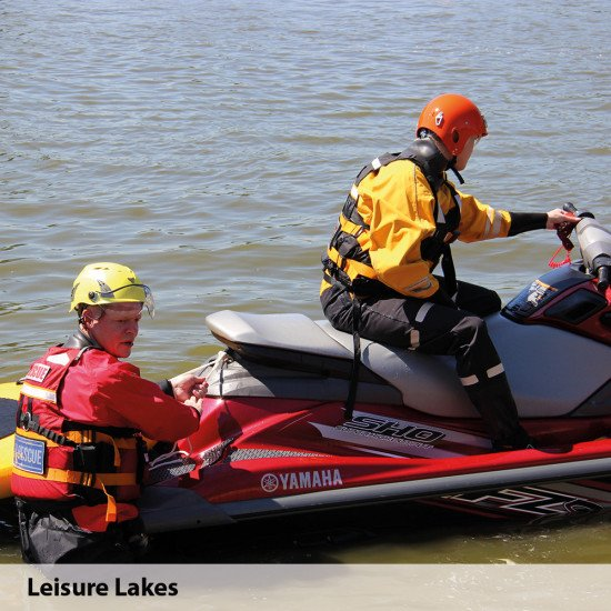 Leisure lakes training day with the V1 storm force surface suits