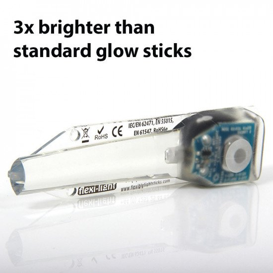 A perfect alternative to chemical light sticks - more environmentally friendly