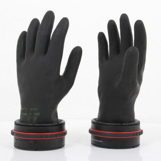 The V4 Dry Glove Ring System is lighter in weight, less bulky, streamlined and more comfortable than the previous V3 model.