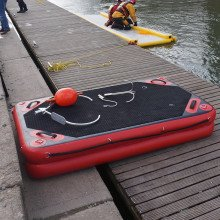 Oxfordshire Fire and Rescue Service using Northern Diver's 2m inflatable Walkway
