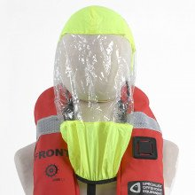 Keep this spray hood at hand for when the conditions deteriorate.