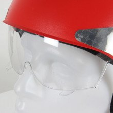 Each manta helmet can be fitted with a retractable internal eye-shield