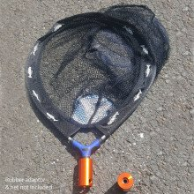 The net attachment is designed to be used with a rubber adapter and net perfect for rescuing wildlife.