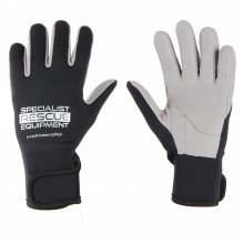 2mm black and grey specialist rescue rope gloves