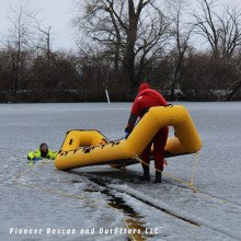 Ice: The RR5 has been designed and developed to be the best and safest ice rescue craft on the market.