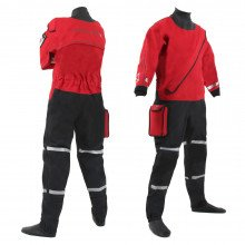 Front and back view of the storm force 5 rescue suit
