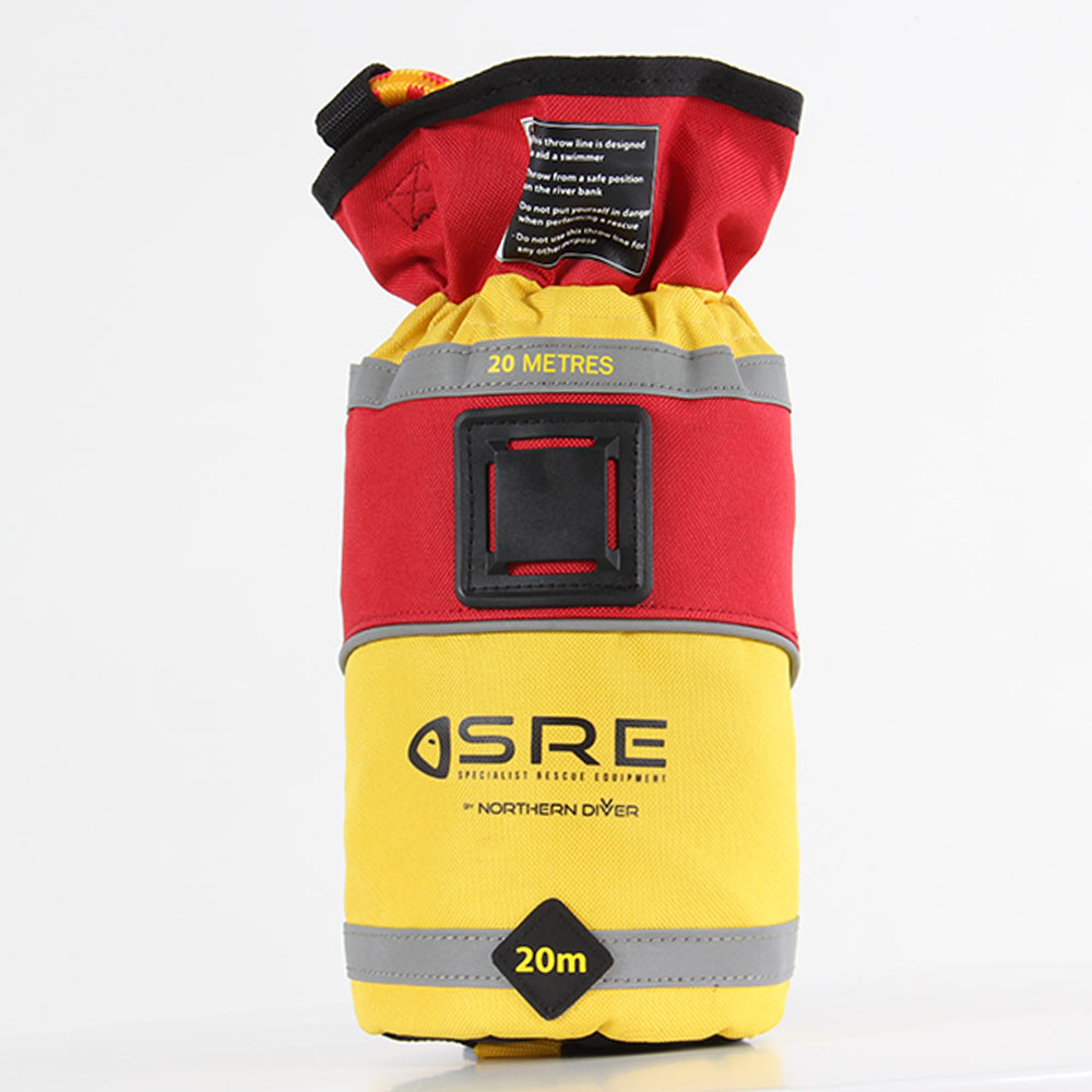 SRE 20m Throw Bag, front view