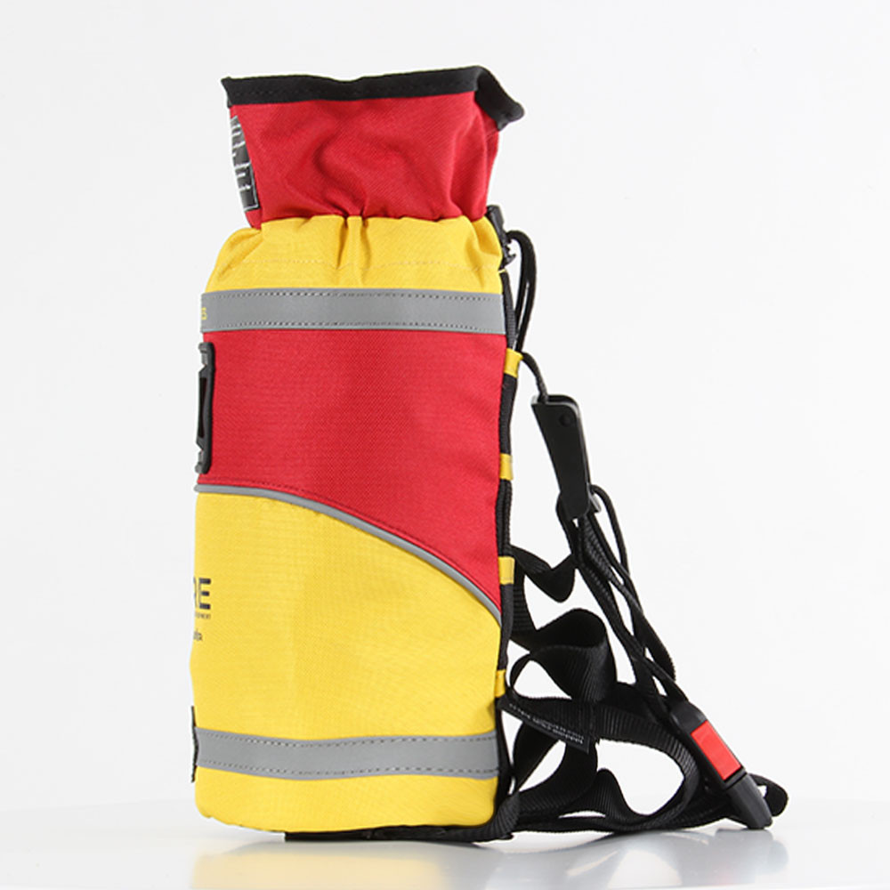 SRE 25m Throw Bag, side view left facing