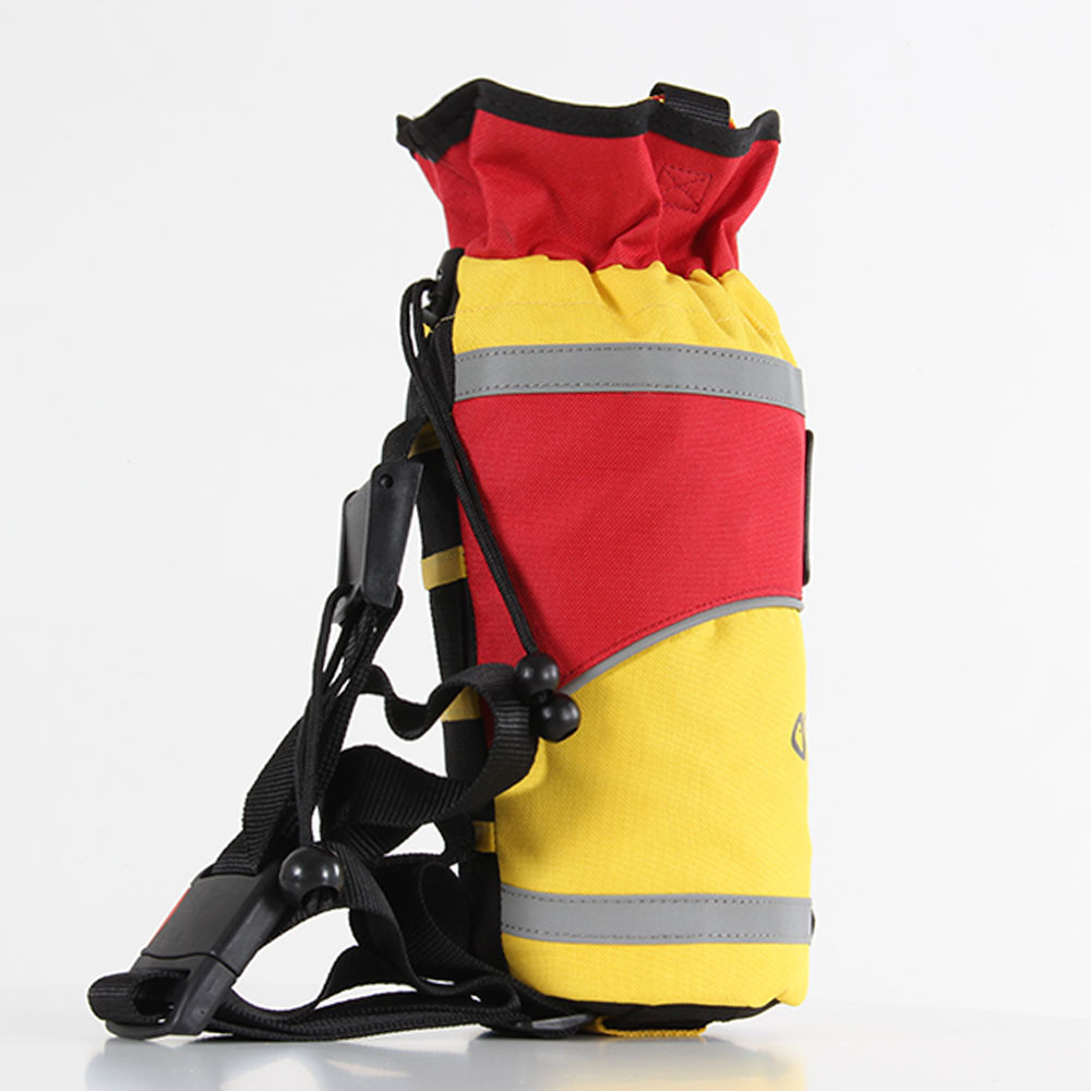 SRE 25m Throw Bag, side view right facing