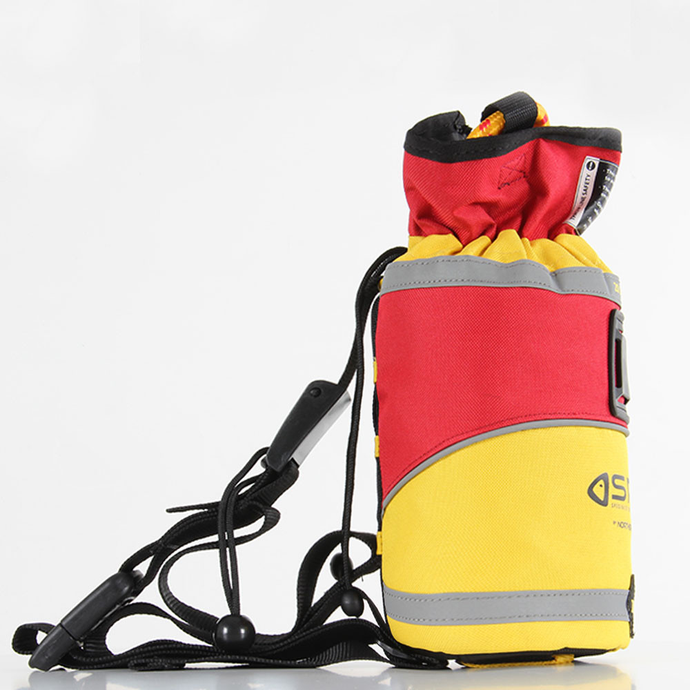SRE 20m Throw Bag, side view right facing
