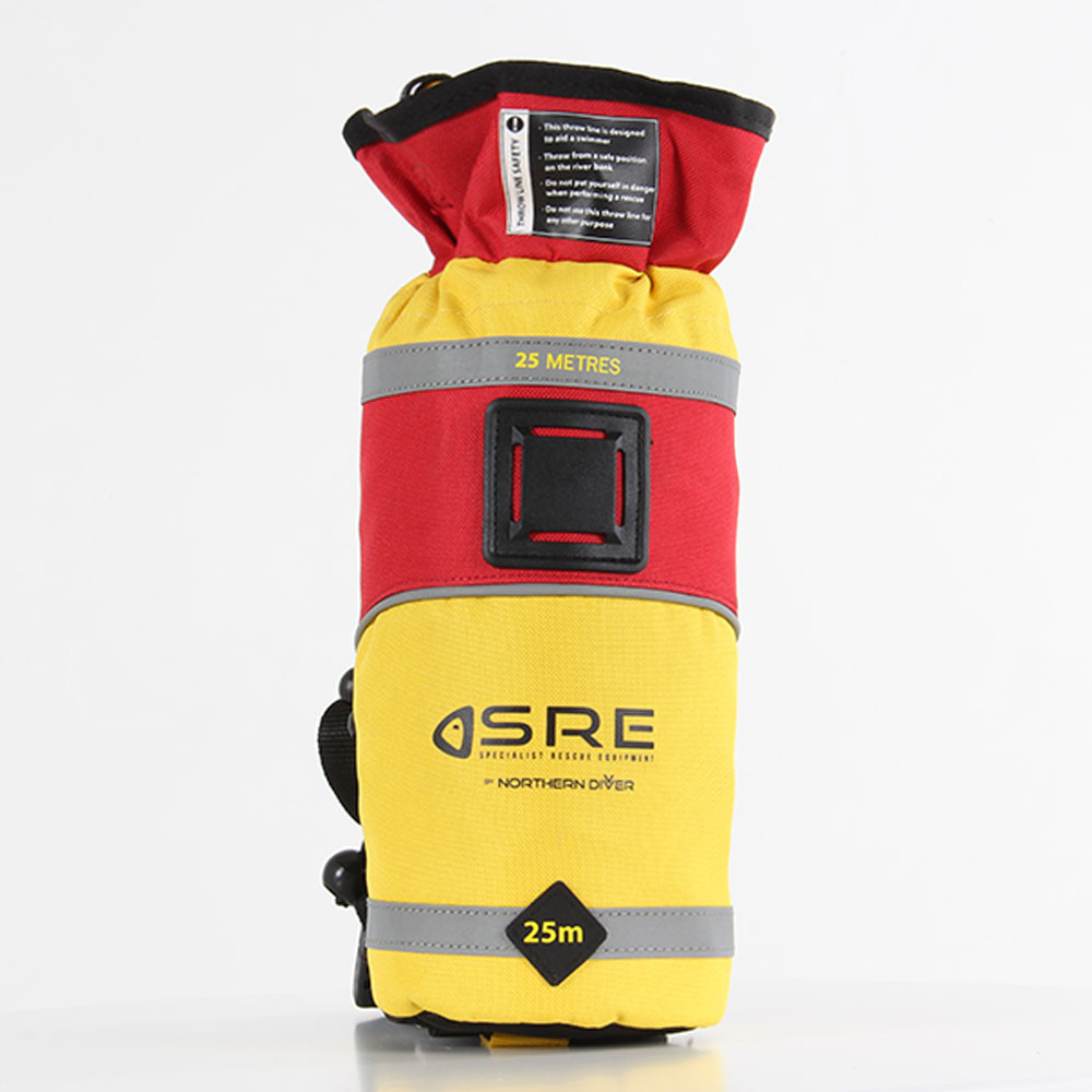 SRE 25m Throw Bag, front view