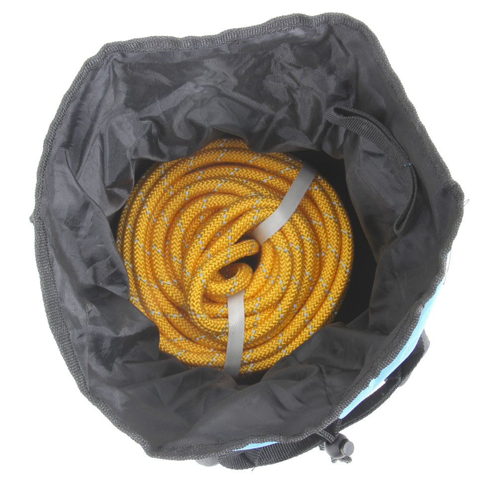 Rescue Backpack with Reflective Floating Line - inside bag shot