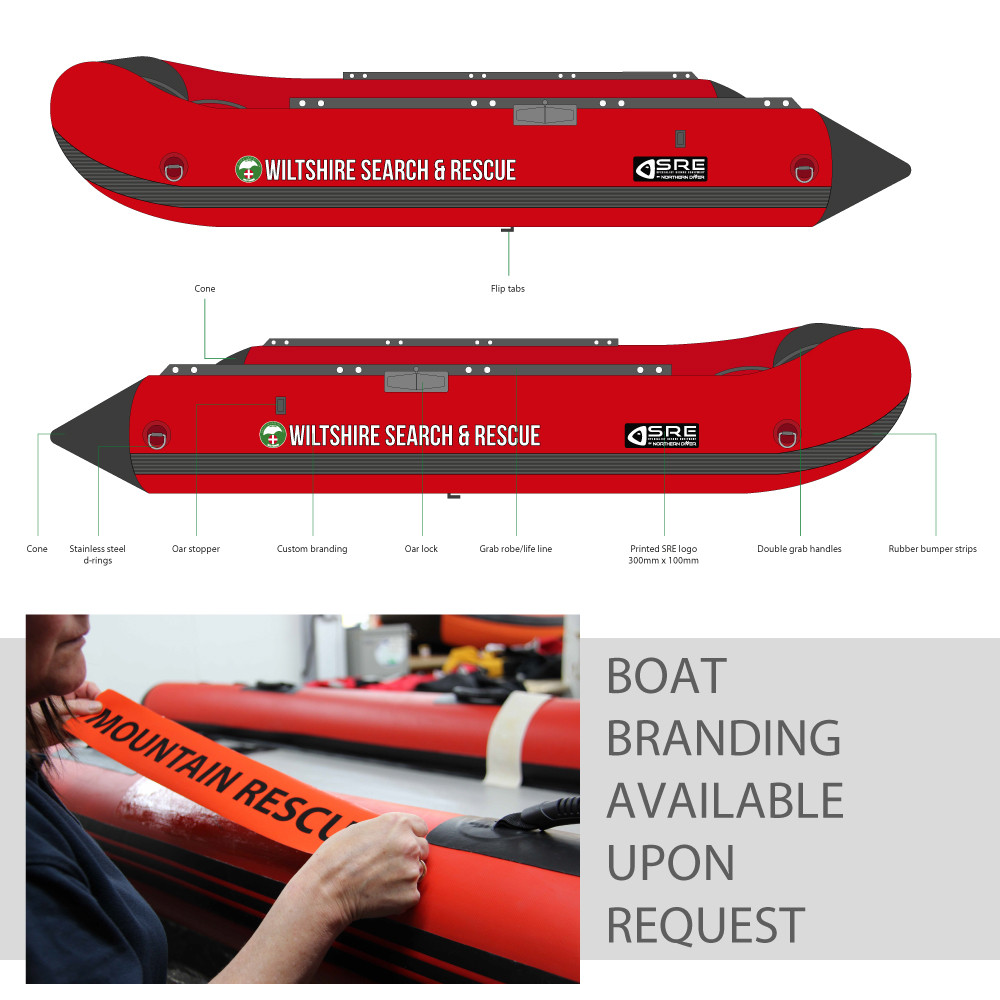 4M PVC Inflatable Boat With Inflatable Floor | Inflatable