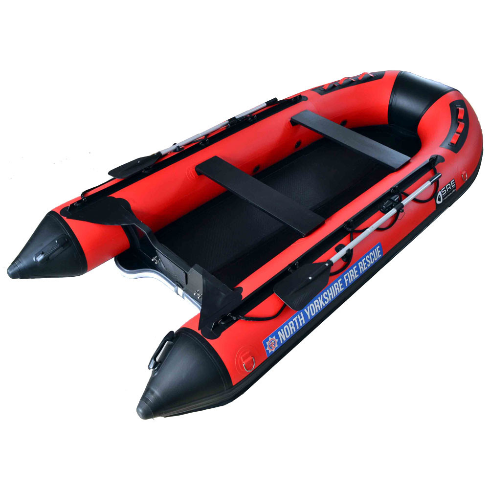 3M Hypalon Inflatable Boat With Inflatable Floor