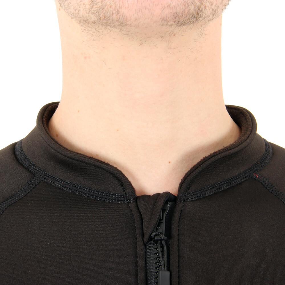 Bodycore Sub Zero Undersuit - neck line close-up