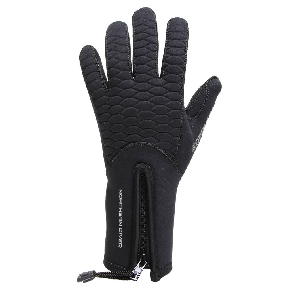 Optimum Gloves 3mm pictured, back of hand
